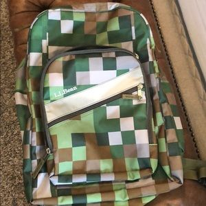 NWOT LL Bean backpack